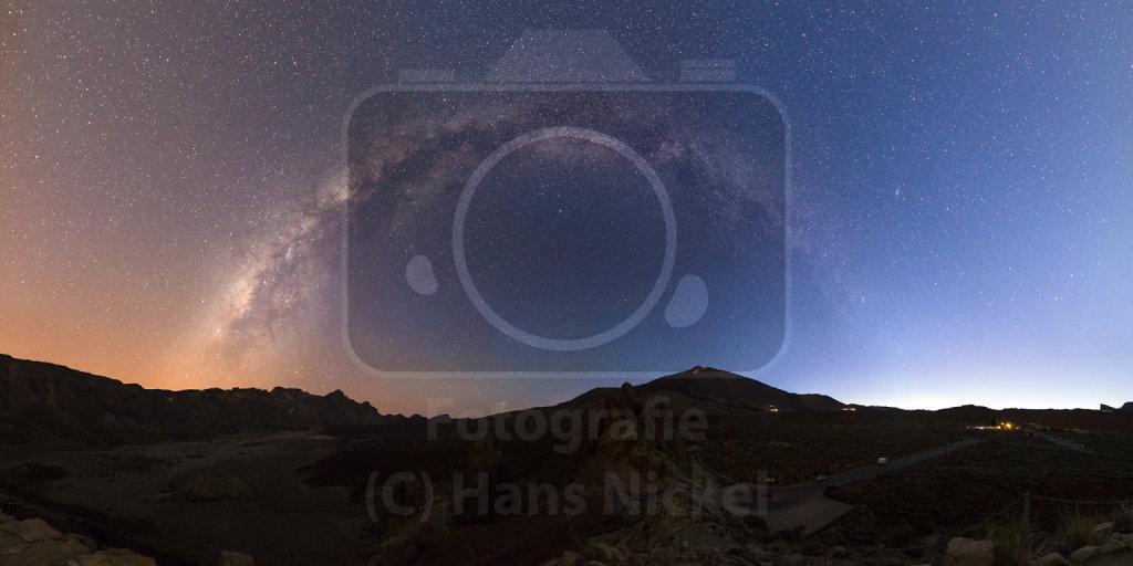 25 - Night meets day over Canadas del Teide