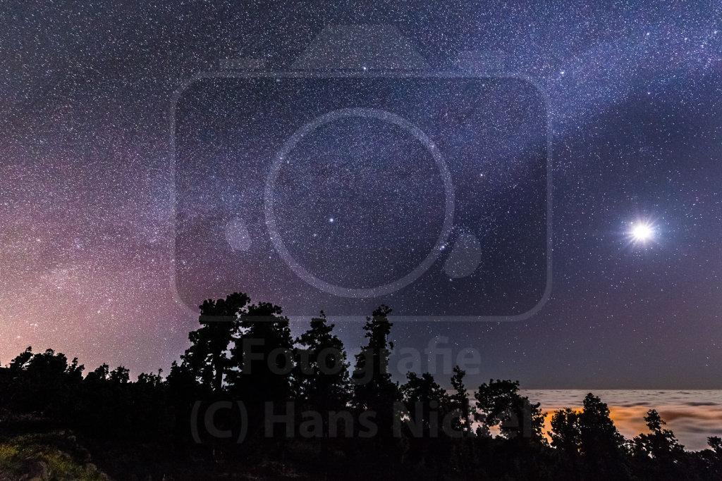 Sternenhimmel über La Palma (2)